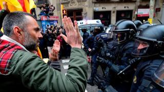 Protestas Bcn