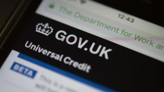 Universal Credit website pic