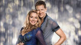 Brendan Cole with partner Anastacia