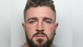 Castleford man caught attacking partner on own CCTV jailed