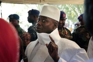 Rais wa Gambia Yahya Jammeh kupewa hifadhi nchini Nigeria iwapo atakubali kujiuzulu