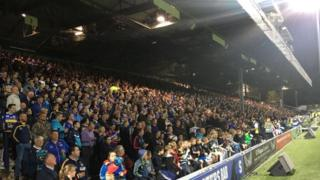 Leeds Rhinos South Stand