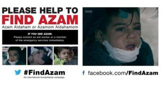 #FindAzam graphic