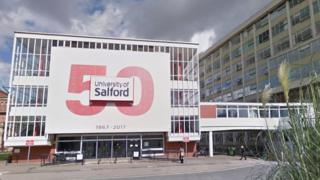 University of Salford exterior
