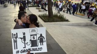 Protesta gasolinazo
