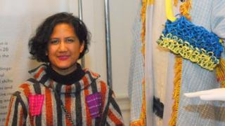 Lekat, tekstil Baduy