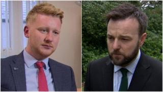 Daniel McCrossan and Colum Eastwood