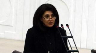 HDP Ağrı Milletvekili Leyla Zana