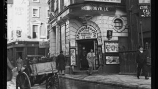 Windmill Theatre on Great Windmill Street, Soho, London