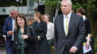 Amanda Thirsk and Prince Andrew