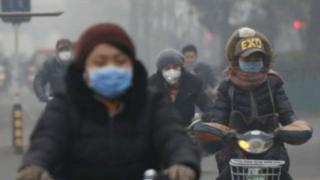 中國空氣污染嚴重