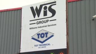 Mallusk-based WIS sign