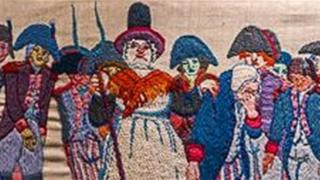 Jemima Nicholas on The Last Invasion Tapestry