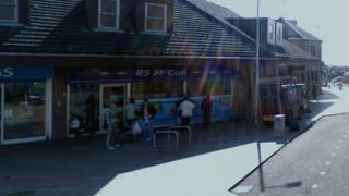 RS McColl shop in Carluke