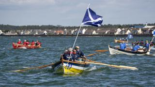 SkiffieWorlds coastal rowing event staged in Stranraer
