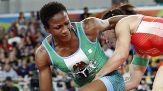 Blessing Oborodudu dey fight wrestling
