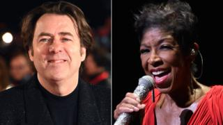 Jonathan Ross and Natalie Cole