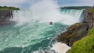 အမေရိကန်နဲ့ ကနေဒါ နှစ်နိုင်ငံ ခွနေတဲ့ နိုင်ယာဂါရာ ရေတံခွန်