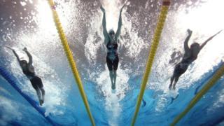 Соревнования по плаванию на Панамериканских играх