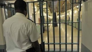 Prison guard at HMP Coldingley