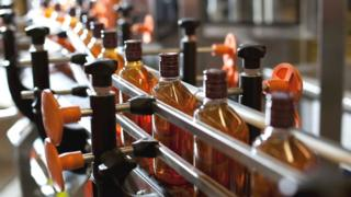 whisky bottling plant