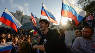 навальний, мітинг