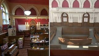 Middlesbrough Town Hall courtroom composite