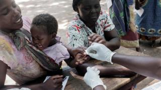 Vacunación en África