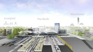 Proposed Crewe station design