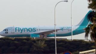 """طائرة تابعة لشركة """"فلاي ناس"""" السعودية"""