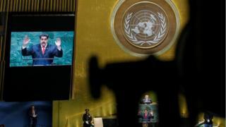 Nicolás Maduro discursa na Assembleia Geral da ONU
