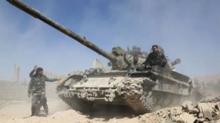 serangan Suriah