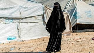 Suriye'nin kuzeyindeki El Hol Kampı