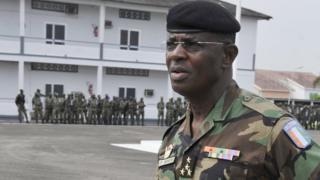 Le général Philippe Mangou, chef d'Etat Major de l'armée ivoirienne sous l'ère Gbagbo