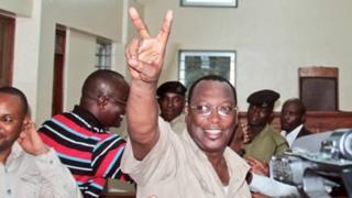 Mwenyekiti wa chama cha upinzani Chadema, Freeman Mbowe katika mahakama ya Kisutu