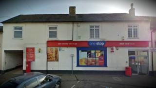 Three men wearing balaclavas entered a branch of the One Stop Stores on Ipswich Road, Claydon