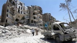 Effaith y rhyfel yn Syria