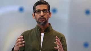 Sundar Pichai, director de Google.