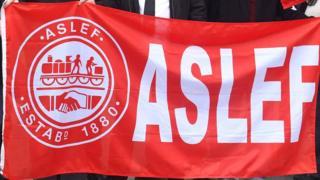 Aslef flag