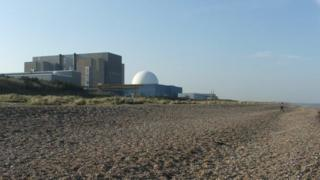 Sizewell B power plant