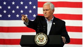 Ông Mike Pence đưa ra tuyên bố trên trong một cuộc phỏng vấn với Fox News