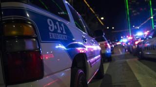 A US police car in Dallas, Texas