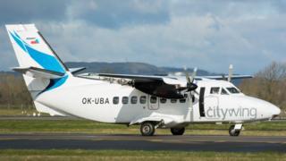 An aircraft operated by Van Air
