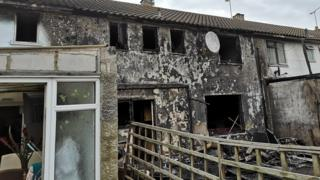 Burnt-out Chelmsford homes