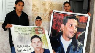 صورة الشاب محمد بوعزيزي
