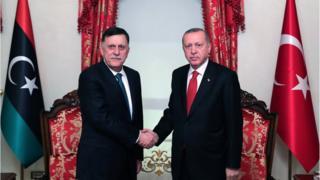 أردوغان والسرّاج