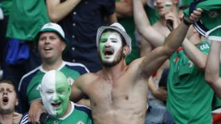 Thousands of Northern Ireland fans travelled to the Euro 2016 finals in France