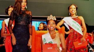 Chioma Obiadi ce sarauniyar kyau ta Nigeria