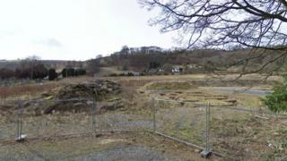 Vicarage Road site, Llangollen, Denbighshire