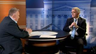 Stephen Nolan interviewed Jonathan Bell on Thursday night's Nolan Show